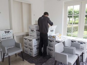 Verhuis-uitpakken