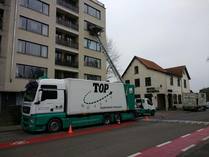 Verhuizen vrachtwagen