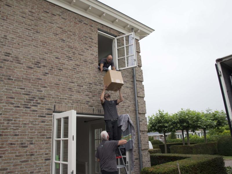 Verhuizen verdieping
